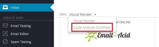 Code analysis summary