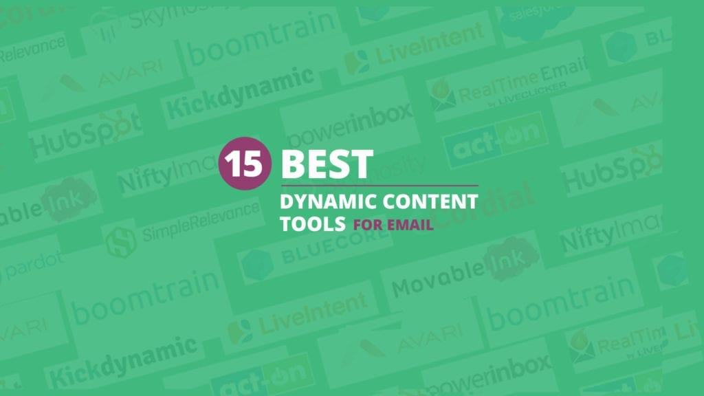 Dynamic Content Roundup