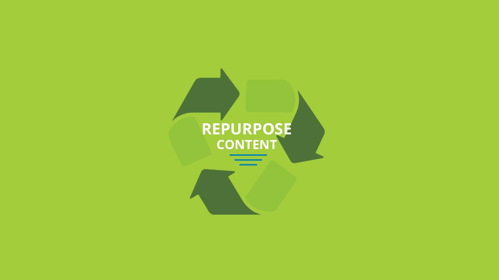 Image result for repurpose content