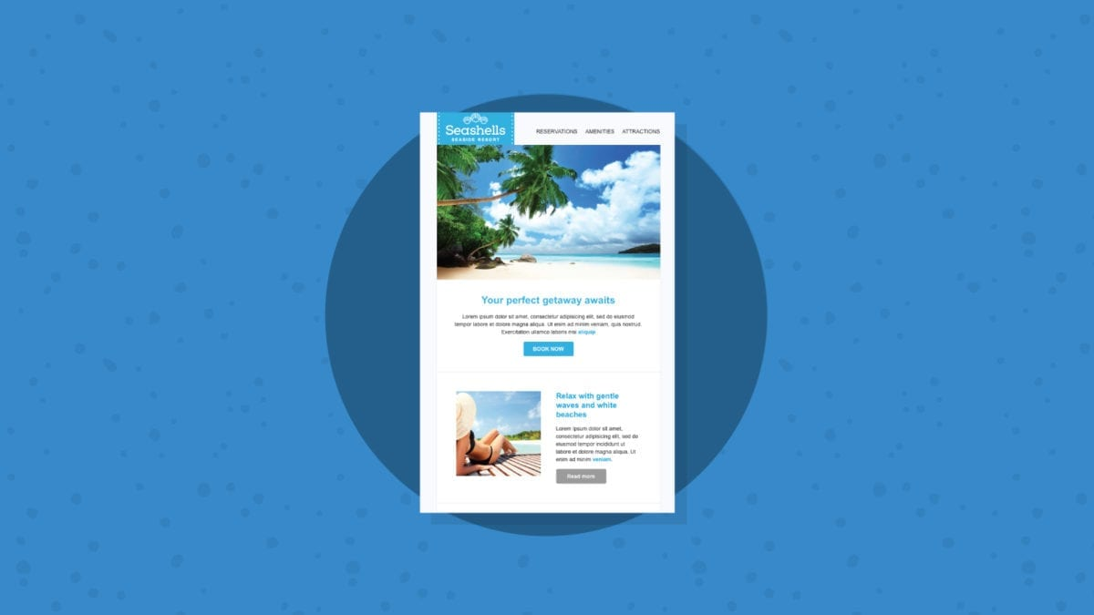 Seashell Responsive Email Template
