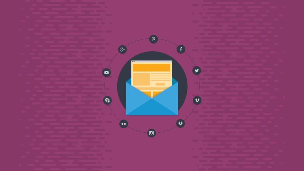Social Media in Email