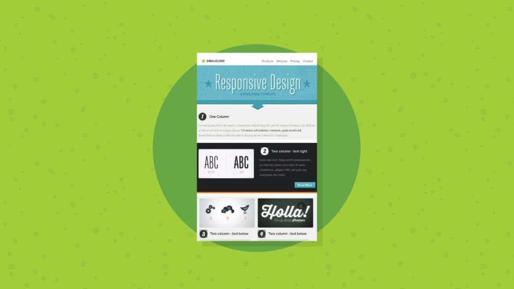 Emailology Responsive Email Template