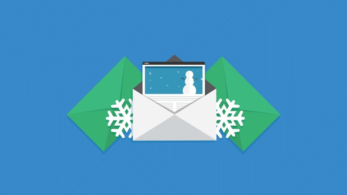 Interactive Holiday Email