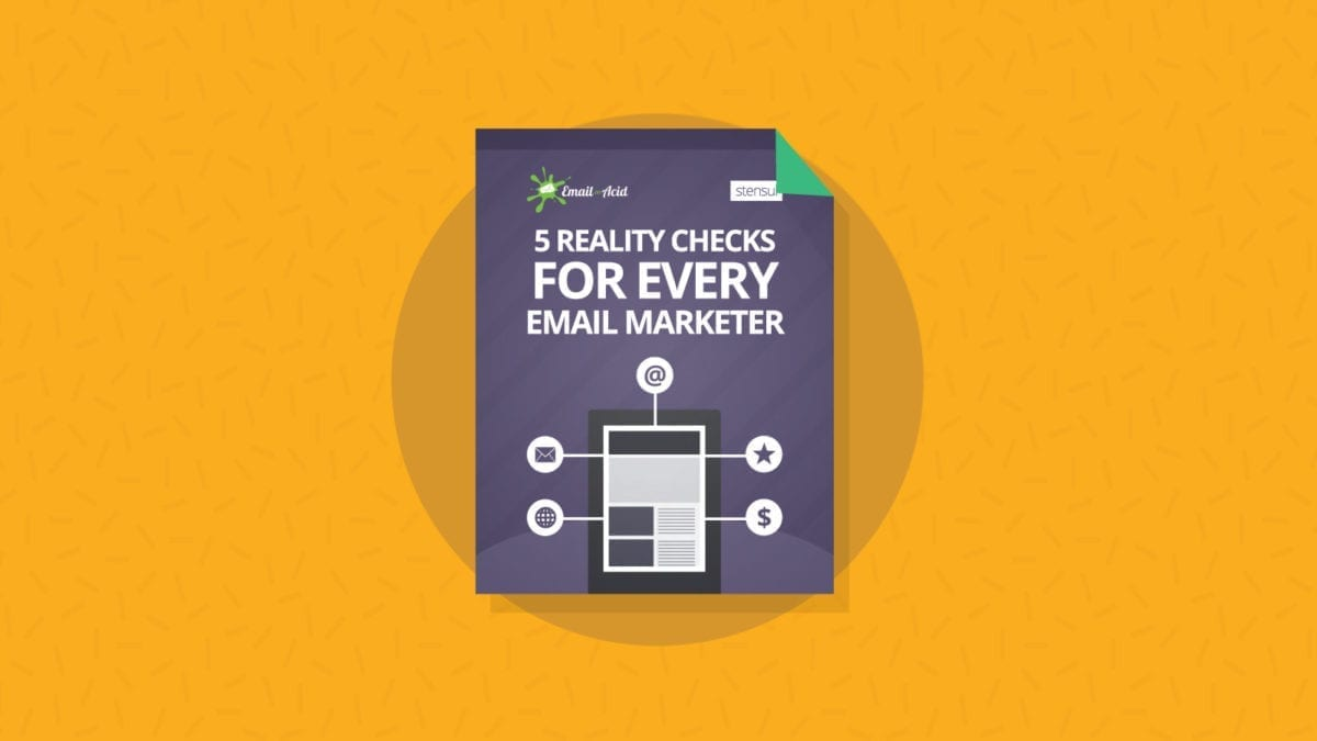 5 Reality checks for every email marketer