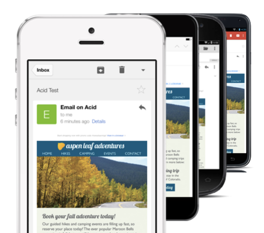 Mobile Email Testing
