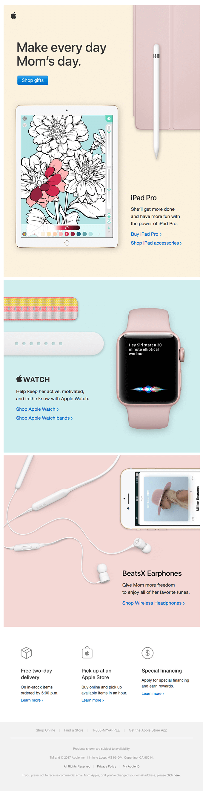 Apple newsletter