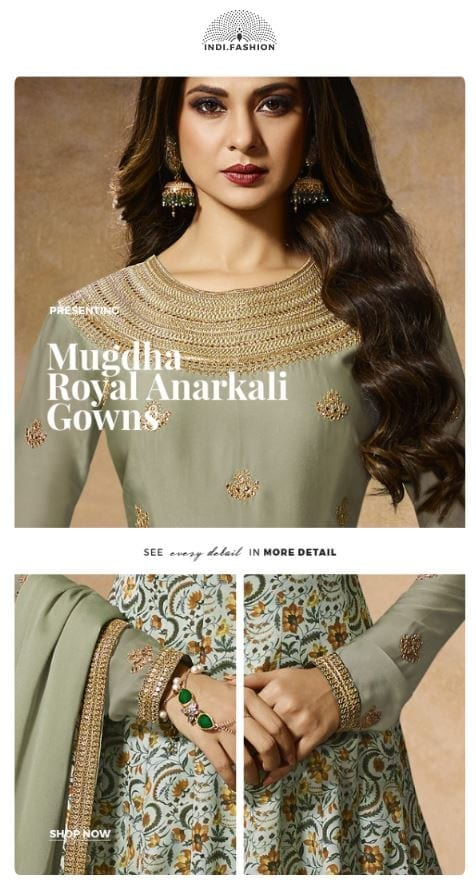 India.Fashion email