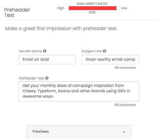 Make a great first impression with effective preheader text