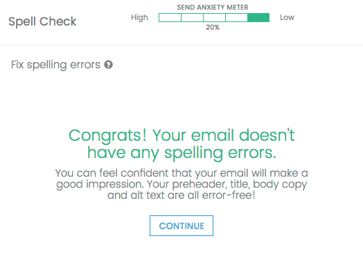 Use spell check to protect your brand's reputation