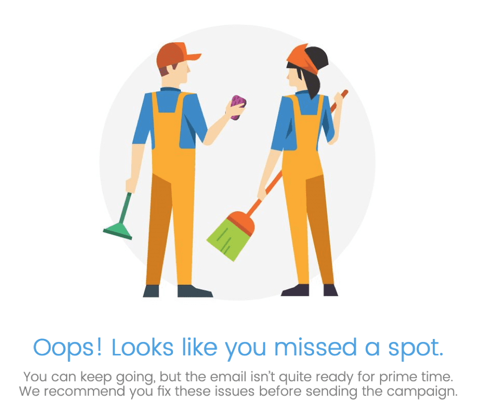 Whoops, you missed a spot in your Inbox Display step