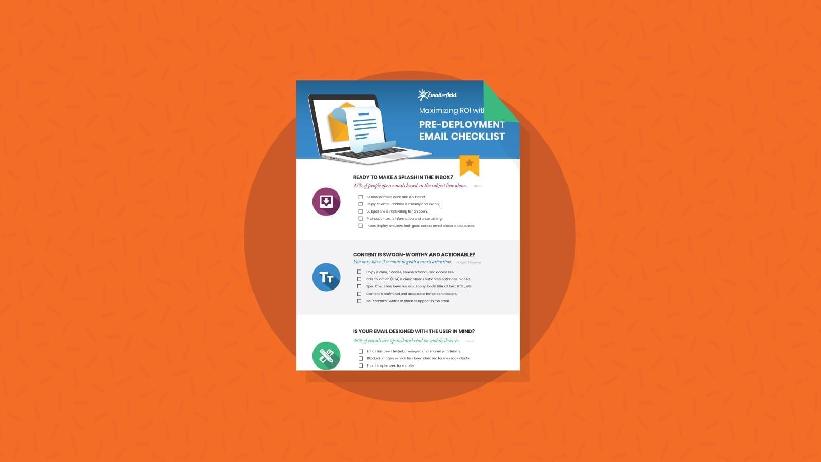 Email Checklist White Paper