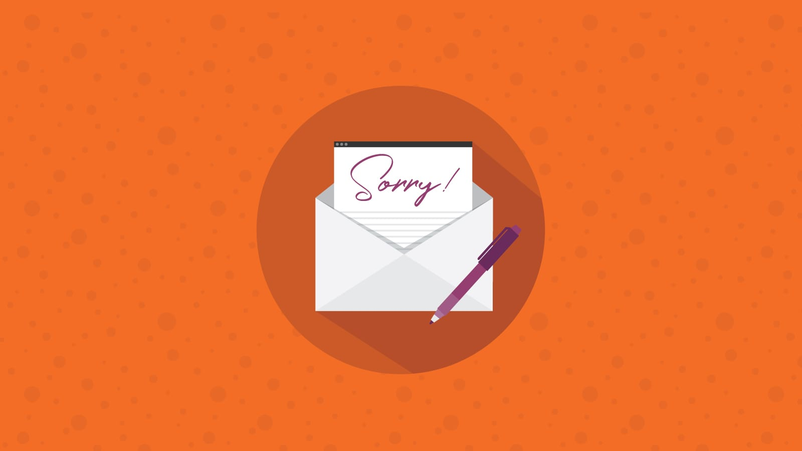 How to Craft the Perfect Apology Email
