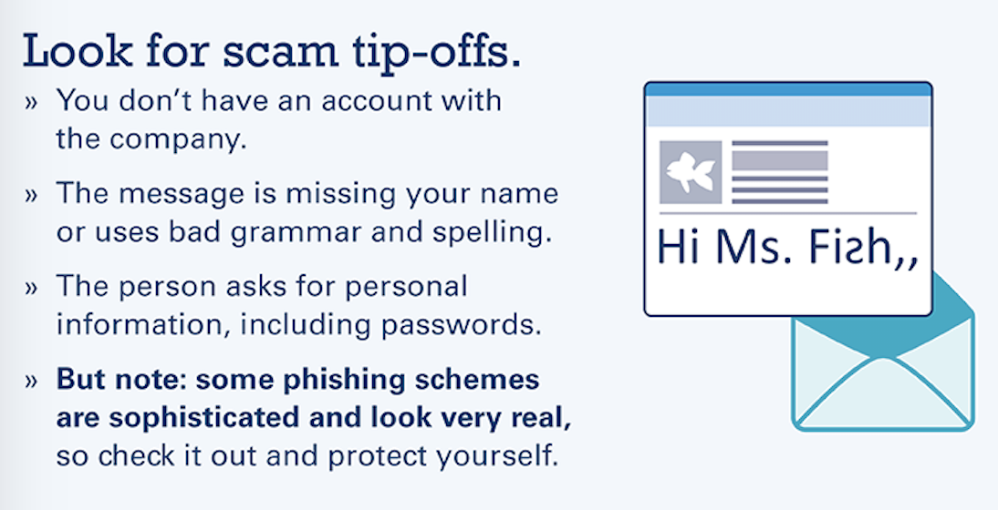 Tips of scamming tip-offs