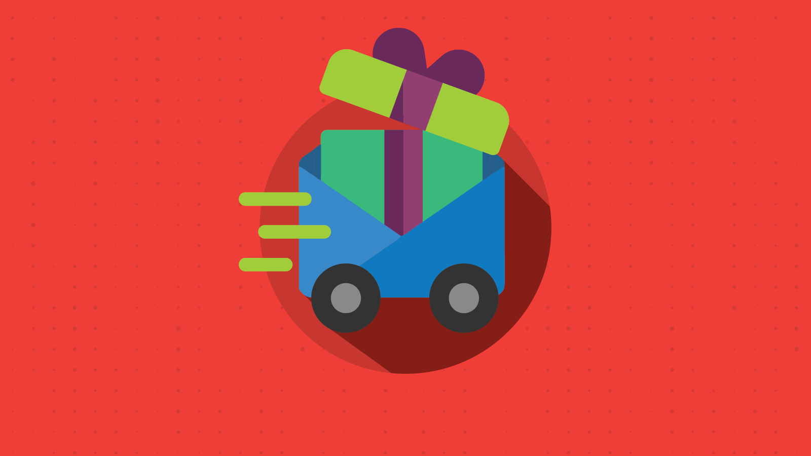 holiday shipping confirmation email graphics