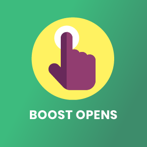open rate icon