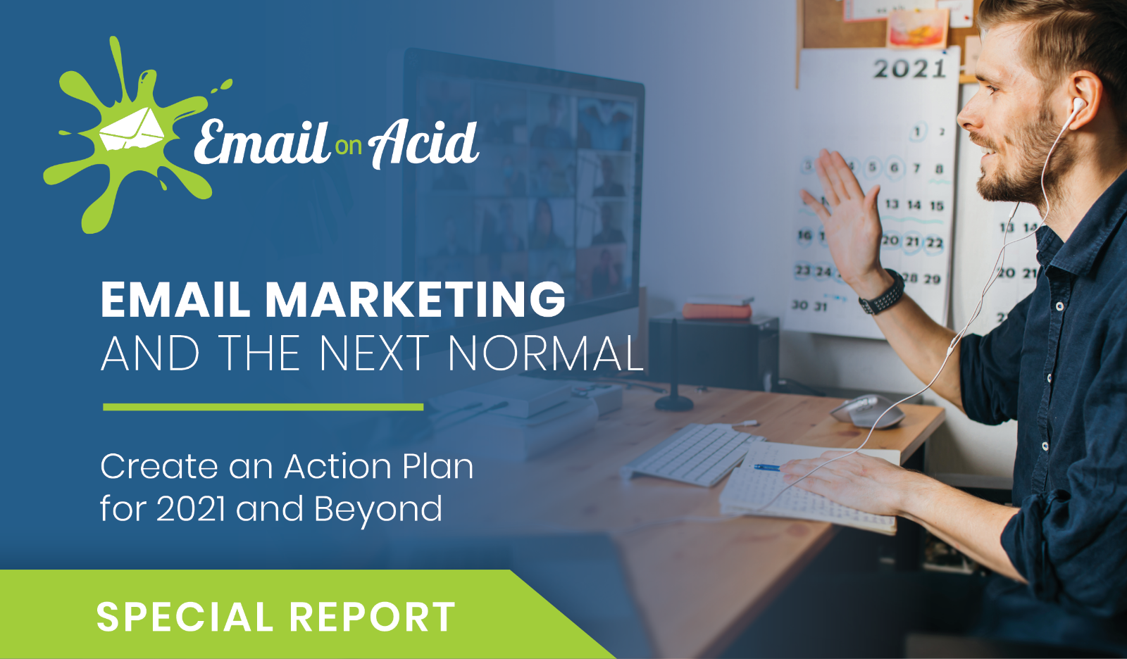email marketer works on 2021 action plan