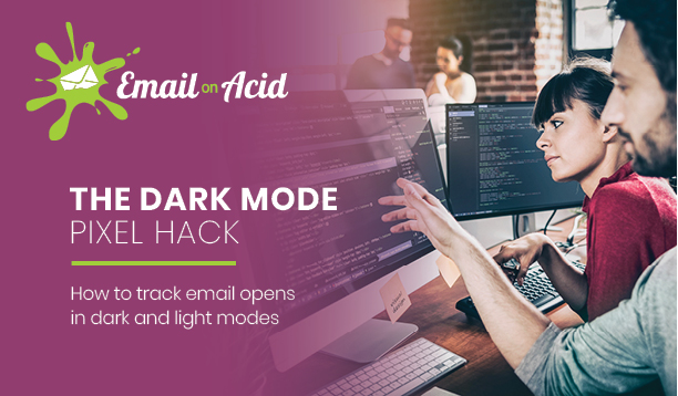 email developers code in dark mode