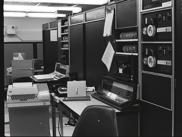 ARPANET computers that sent first emails