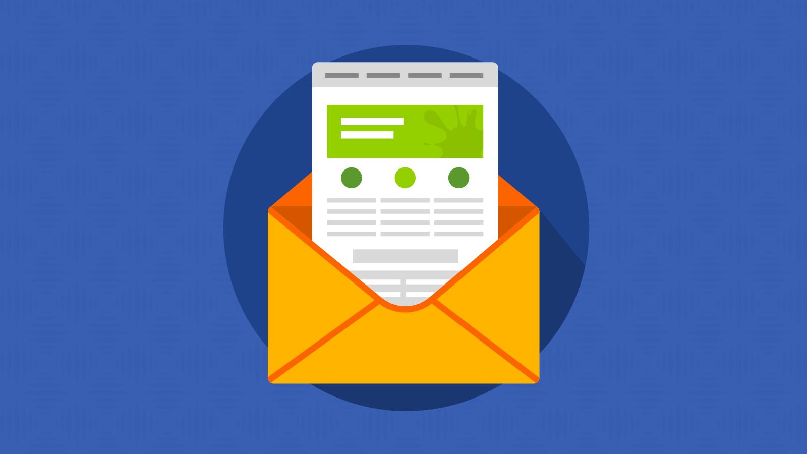 internal email newsletter design