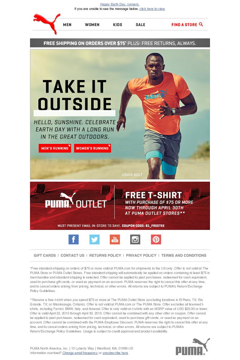 puma email
