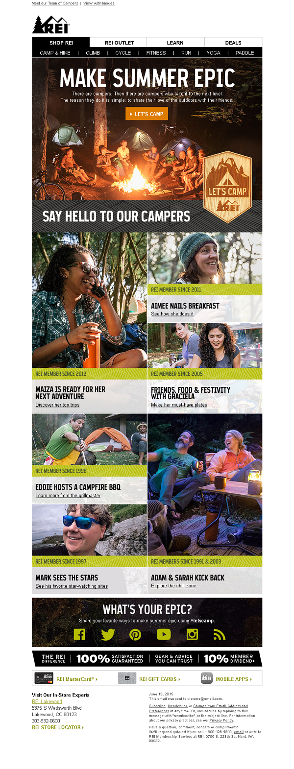 REI summer email