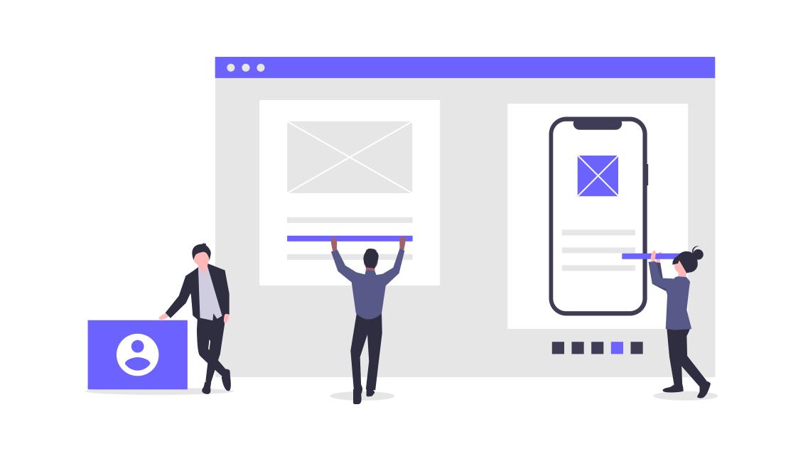 marketing team builds a content brand